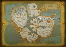 Squabble the Roughneck map