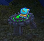 Broken demon detector treasure