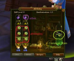 Allods Online Alchemy Blindness