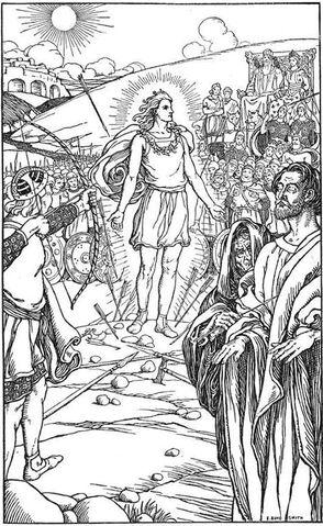File:Each arrow overshot Baldr's head by Elmer Boyd Smith.jpg