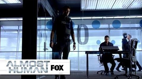 "Kennex Explains The XRN from ""Unbound"" ALMOST HUMAN FOX BROADCASTING"