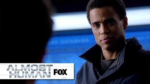 """Call Intercepted from """"Beholder"""" ALMOST HUMAN FOX BROADCASTING"""