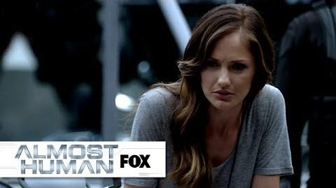 """Sexbot Creator's Murder Investigation from """"Skin"""" ALMOST HUMAN FOX BROADCASTING"""