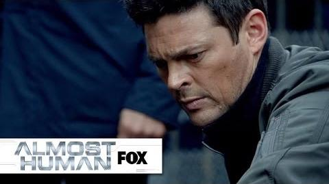 """The Straw Man Strikes Again from """"Straw Man"""" ALMOST HUMAN FOX BROADCASTING"""