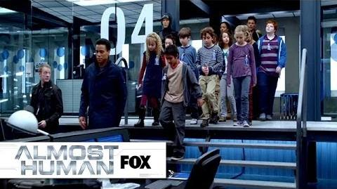 """Police Station Field Trip from """"Unbound"""" ALMOST HUMAN FOX BROADCASTING"""