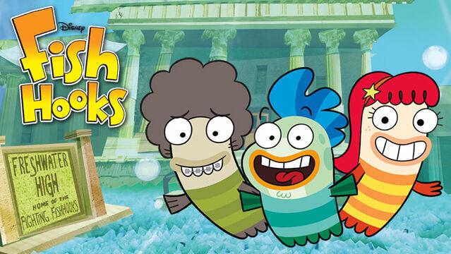 Almost naked animalia fandom powered by wikia for Fish hooks season 3 episode 16