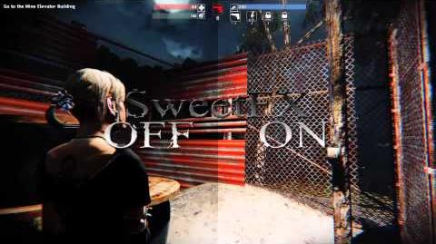 Alone in the Dark Illumination - SweetFX mod - gameplay PC Improved graphics mod Windows 10