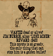 Lone miner-wantedposter