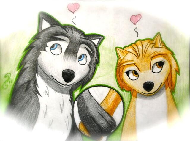 File:6641 - alpha and omega-canine-cartoon-couple-cute-female-humphrey-kate-love-male-straight-unknown artist-wolf-♥.jpg