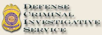 Defense criminal investigative service-badge