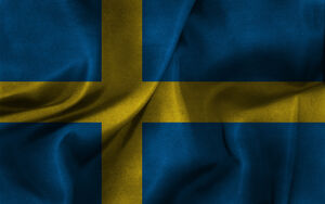Swedish Flag by MYNIGHTCLUB