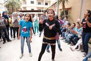 Dancing and singing to forget the pain of Syrias conflict (11235994366)