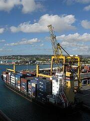 Barbados cargo ship