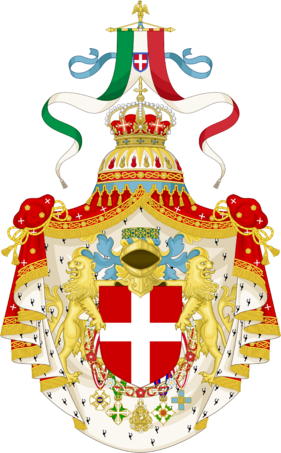 Royal Coat of Arms of the Kingdom of Italy
