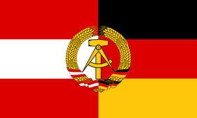 Austro-German Democratic Republic Flag