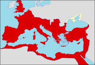 Rome in 150 AD
