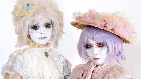 Shironuri Makeup Tutorial by Minori - 白塗り メイク