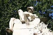 220px-3420 - Milano - Ernesto Bazzaro (1859-1937) - Monumento a Felice Cavallotti (1906) - Foto Giovanni Dall'Orto 23-Jun-2007