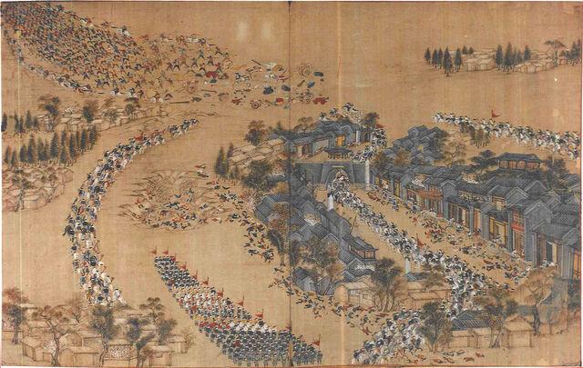 File:Qing ambush Taiping Army at Wangjiakou 1854.jpg