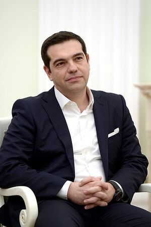 Alexis Tsipras in Moscow 2