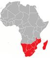 De Drie Tijden, Positionering Zuid-Afrika in 2009.png