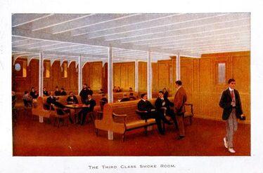 Titanic Third Class Smoke Room 1