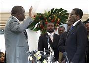 Morgan Tsvangirai oath PM 2009
