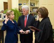 President Clinton oath