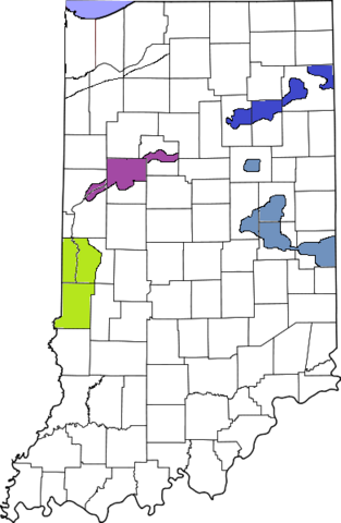 File:391px-Map of Indiana6 highlighting Lake County.png