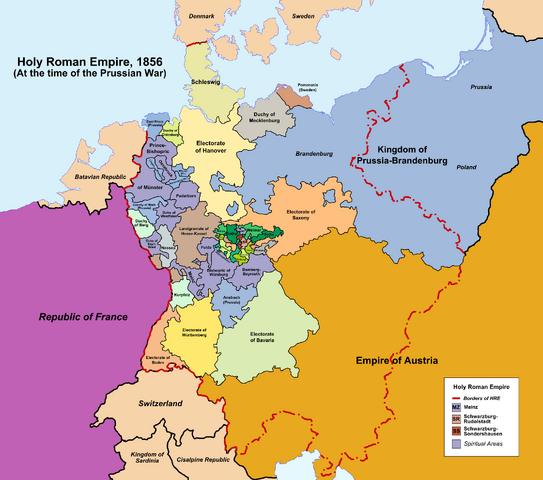 File:Holy Roman Empire, 1856 (No Napoleon).png