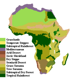 Post-Eden African Climates