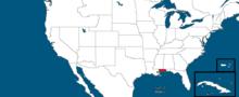 States of the USA, West Florida (Alternative 2014)