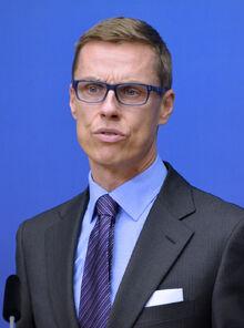 Alexander Stubb Oct, 2014