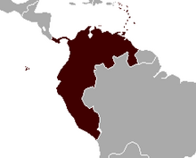 Location of Gran Colombia (Latin American Meiji)