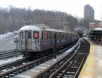 R62A 1 train at Dyckman