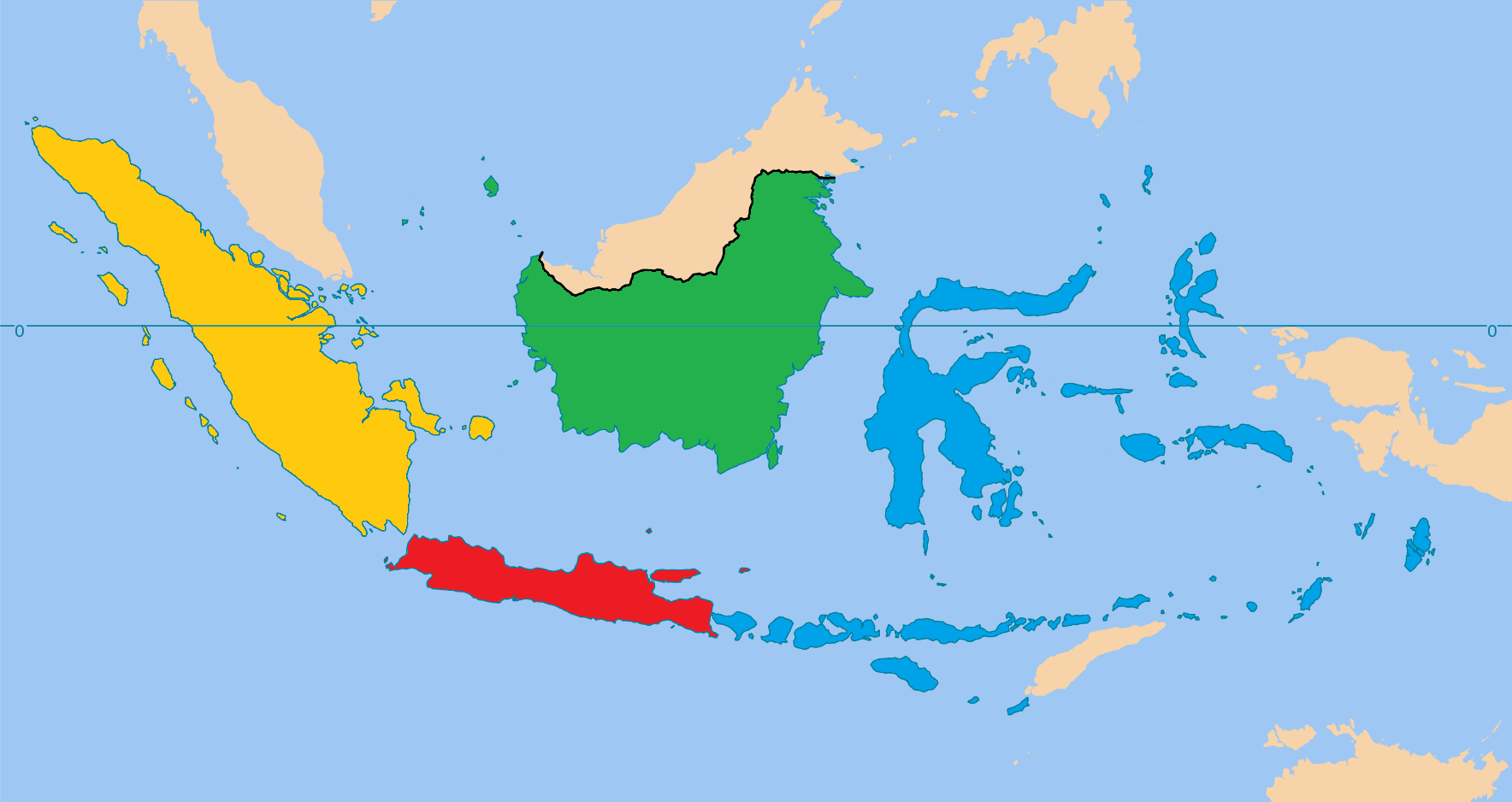 Image Map Of Indonesia Central Italypng Alternative History - Indonesia map