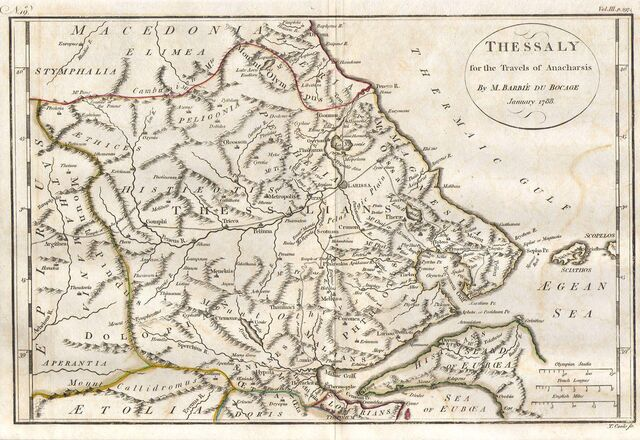 File:1788 Bocage Map of Thessaly in Ancient Greece ( the home of Achilles) - Geographicus - Thessaly-white-1793.jpg