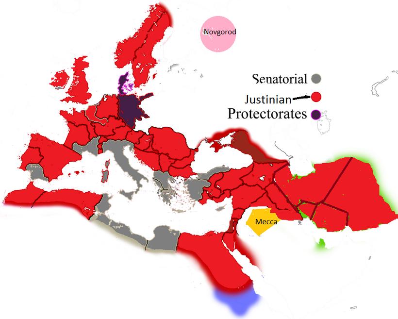 Europe map b