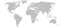 Portgual map