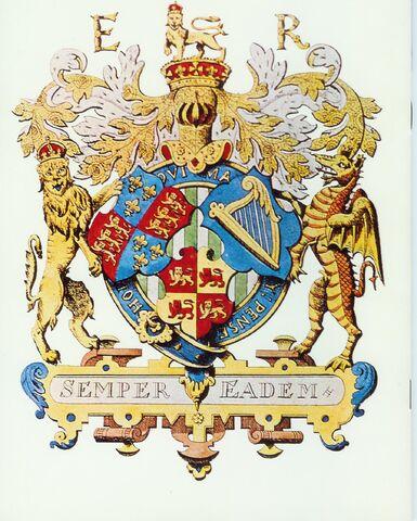 File:Elizabeth 1st Three Countries Coat of Arms.jpg