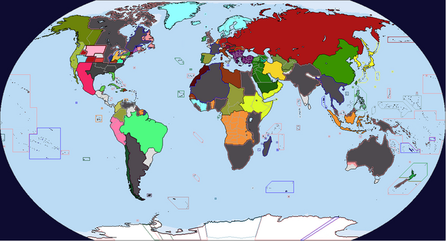 Diversa Pars Map Game 1937 Map