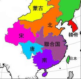 Sinica with Mongolia