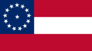 Flag of the Confederate States 14 stars