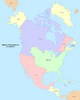 Map of North America (No Napoleon)