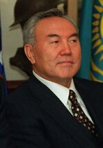 Nursultan Nazarbayev 1997