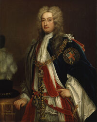 Charles Townshend, 2nd Viscount Townshend by Sir Godfrey Kneller, Bt (2)