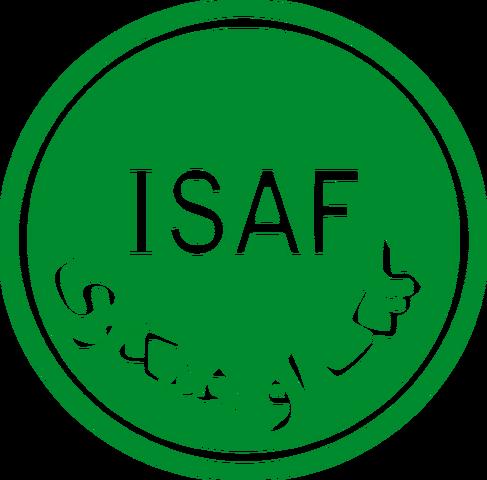 File:Logo of ISAF.png