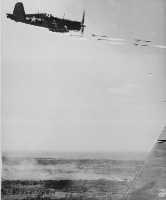 File:US plane attacking Okinawa.jpg