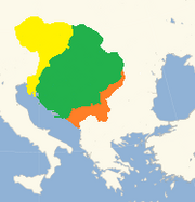 Czech empire furthest extent -see-breakup