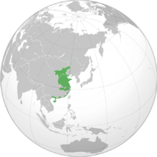 Chinese State Union Map (TNE)